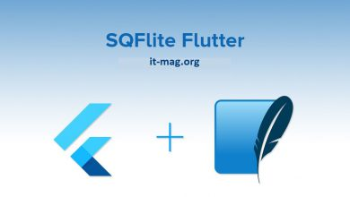 تصویر از sqflite، پایگاهداده فلاتر