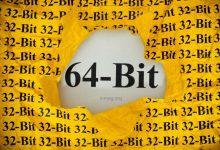 تفاوت سیستم عامل 32 بیتی و 64 بیتی