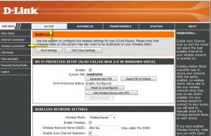 تنظیم تکنیک WEP در وای فای 2