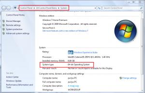 تشخیص 64 یا 32 بیتی بودن سیستم عامل ویندوز