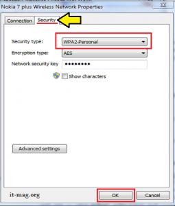 تنظیم WPA در وای فای 4