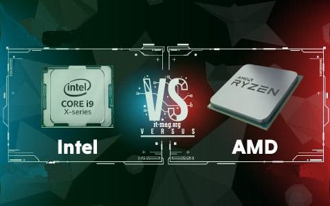 تفاوت پردازنده amd با intel