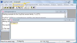 آموزش رمزگذاری با cryp tools