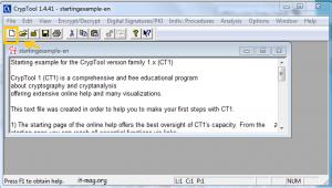 آموزش رمزگذاری با cryp tool