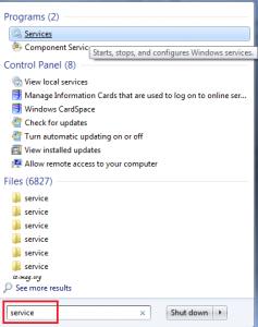 روش های جلوگیری از آپدیت ویندوز 10 - روش سرویس