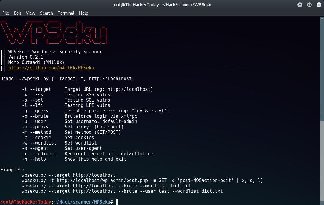 ابزار قدرتمند WPseku
