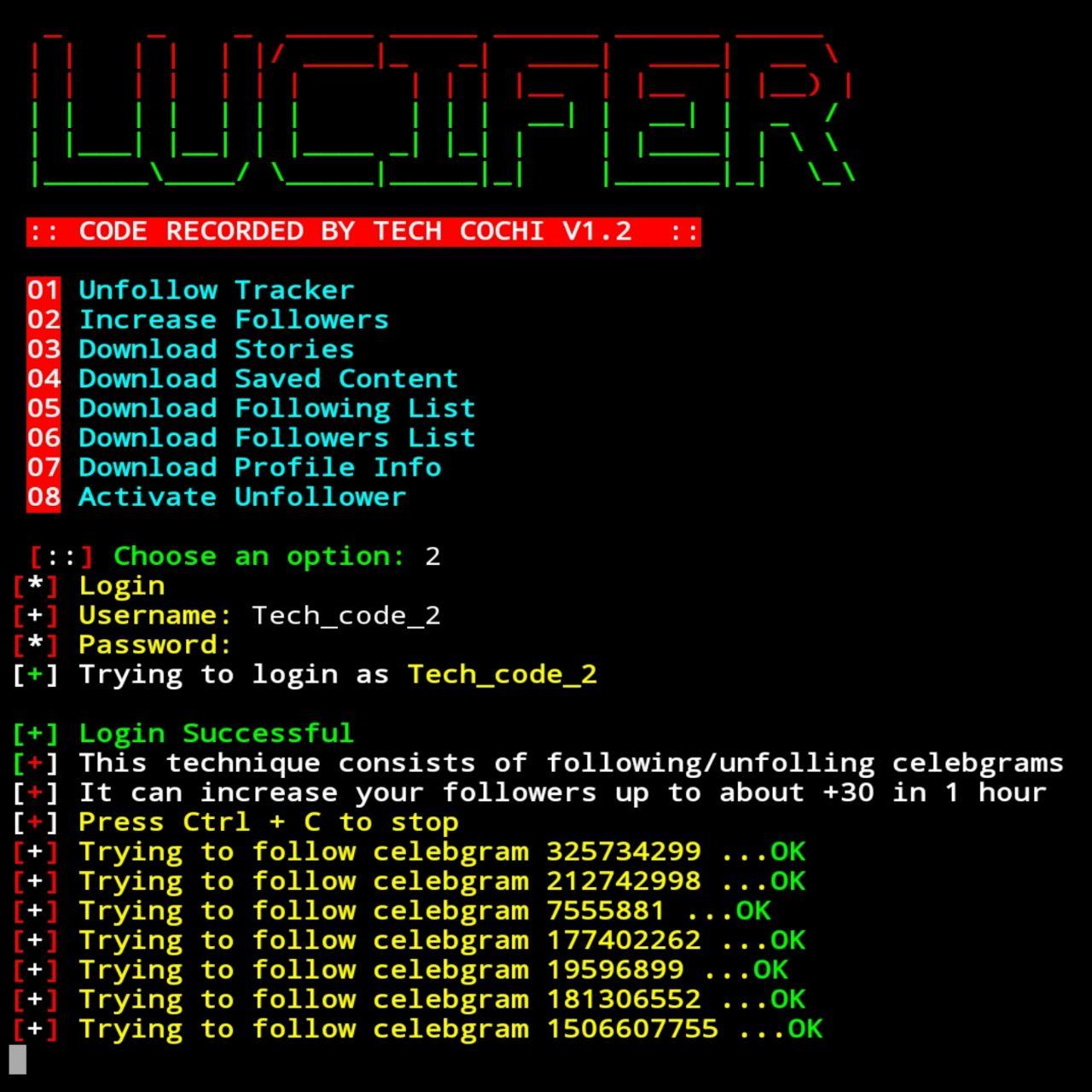 آموزش گرفتن فالوور رایگان با ترموکس + termux